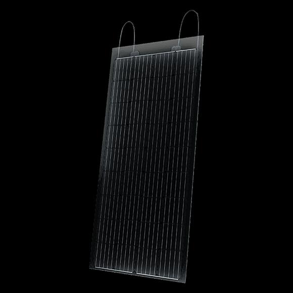 SolarWatt áttetsző napelem