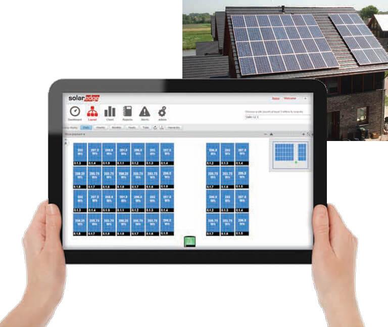 SolarEdge Monitoring rendszer