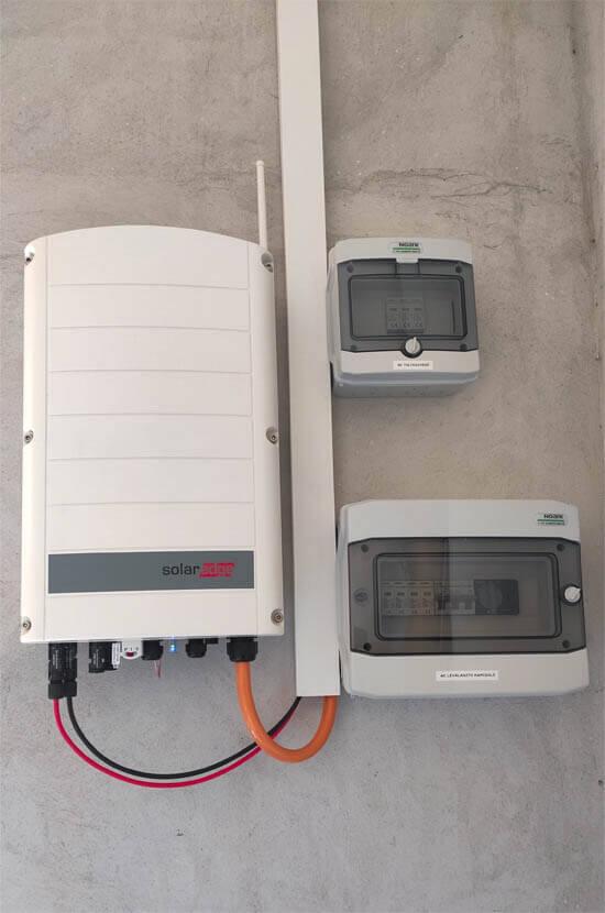 SolarEdge inverter referencia