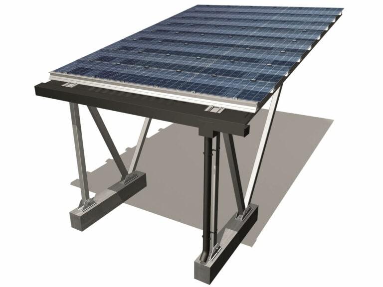 SolarWatt keret nélküli félig átlátszó napelem