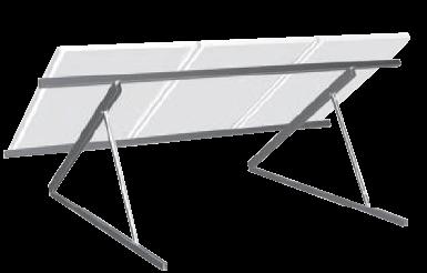 Schletter kiemelő rendszer lapostetőre