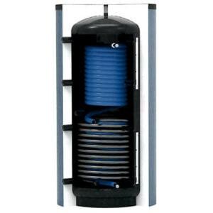 Napkollektor tárolók használati meleg víz és fűtésrendszerekhez