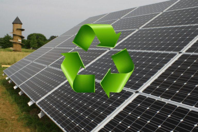 napelem újrahasznosítás